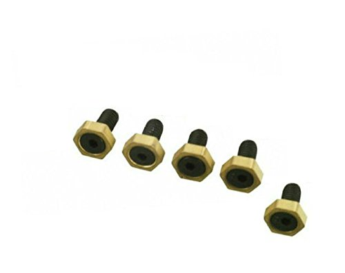 5Pc 1/4-20 Low Profile Fixture Workholding Clamps