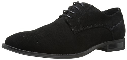 Stacy Adams Uomo Kensington Oxford Nero Suede