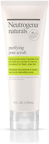 Facial Cleanser: Neutrogena Naturals Purifying Pore Scrub