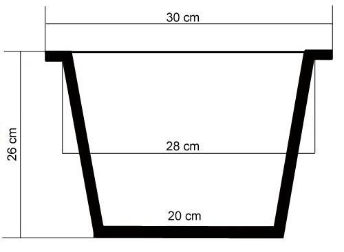 Wasserhyazinthe Blumenkübel Übertöpfe Pflanzkübel 2er Set