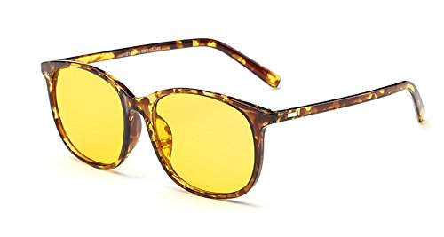 SOOLALA Oversize Anti-blue Light Computer Eyeglasses Radiation Protection Sunglasses, - To Sunglasses Light Blue Block