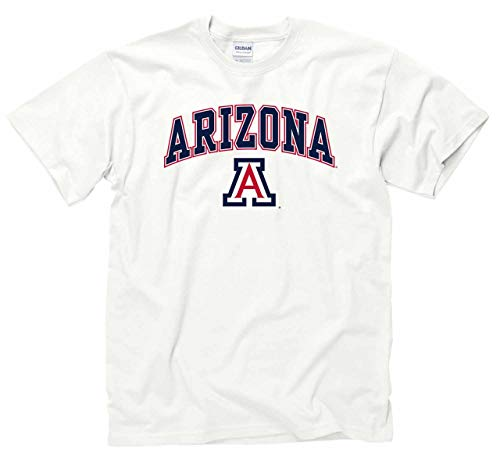 Arizona Wildcats Arch & Logo Gameday T-Shirt - White ()