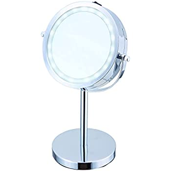 Amazon Com Elle Vanity Light Up Mirror With Led Light