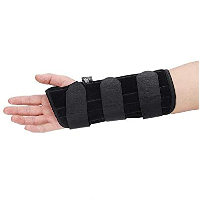 Breathable wristband Hand support Sprain protection Carpal splint Arthritis splint for carpal tunnel fractures sprains and pain relief Estimated Price -