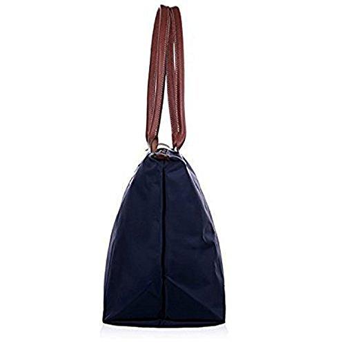 Bag WOMJIA Black WOMJIA Women's Waterproof Women's Stylish Tote Shoulder qqOr0R