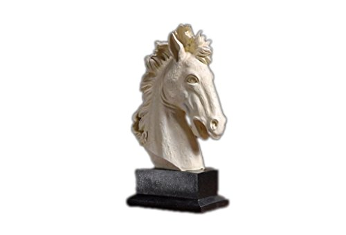 YUAN JIAN SHOP Horse Decoration Home Decoration Minimalist Crafts Retro Decoration TV Cabinet Display Bed Room Creative Soft Decorations by ZAZAZA