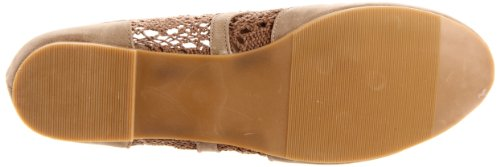 Wanted Women's Oxford Lace Taupe Shoes Neat Up wa6r8wq