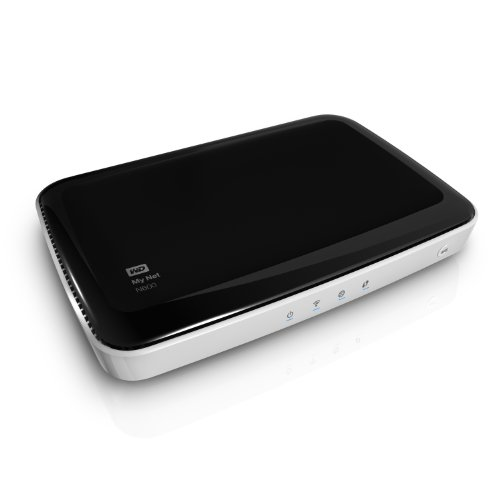 WD My Net N600 HD Dual Band Router Wireless N WiFi Router Accelerate HD by Western Digital