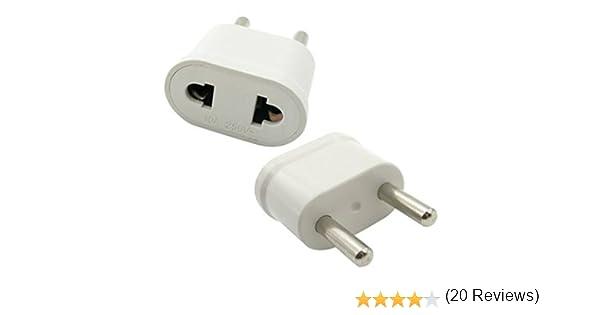 Adaptador Universal de Viaje para USA/Unión Europea – Universal Travel Adapter para US/EU (Adaptador de Viaje para US/EU): Amazon.es: Electrónica