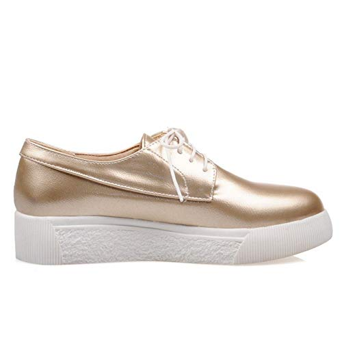 Melady Sneaker gold Fashion Flat Women 2 rYYnqC6w