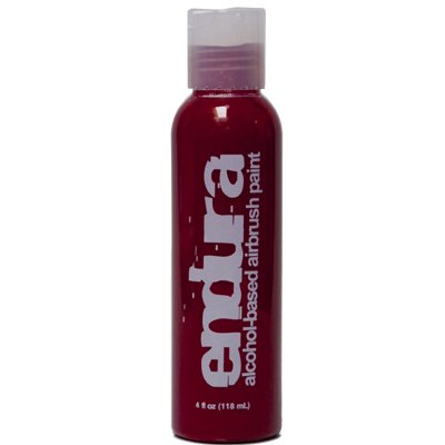 4 oz Red Endura Ink Alcohol Based Airbrush Makeup