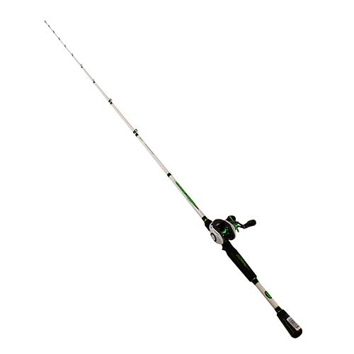 LEW'S Fishing Mach 1 Speed Spool SLP Combo, Baitcast Combo, Baitcasting Reel, Fishing Reel and Fishing Rod, Fishing Gear and Equipment, Fishing Accessories (MH1SHA610MH)