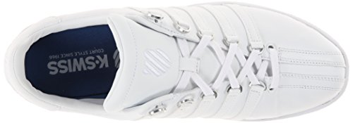 Scarpe white bianco Bianco Ginnastica Vn Uomo Da white K Basse swiss Classic qUvCBt