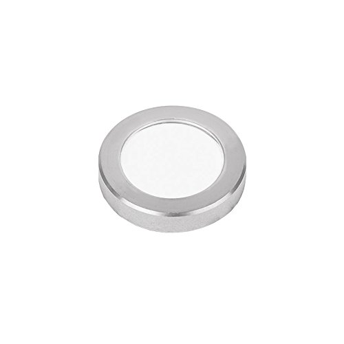 WAC Lighting 1011-30SS 1'' Inground LED 12V Slim Round Indicator LightStainless Steel