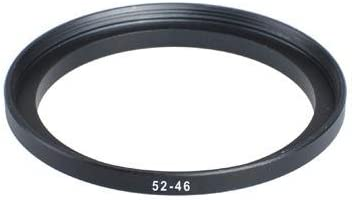 52mm-46mm 52-46 mm 52 to 46 Step Down Ring Filter Adapter