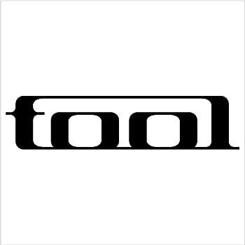 Tool band car window vinyl decal sticker 6 black