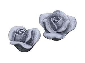 Preciosa pieza 2piedra flor flores Rosenstein Rosenstein fundido jardín decoración frostfrei