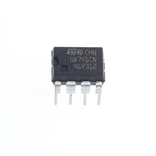 UXOXAS UA741CN Op Amp DIP-8 (5Pcs)