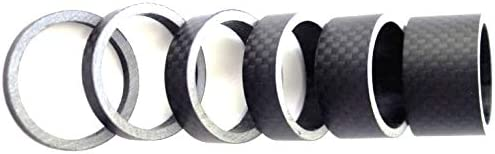 PLATT Fahrrad Ahead Vorbau Spacer 1//8 Aluminium MTB Rennrad Distanzscheiben Headset Spacer 2//3//5 //10mm 7 St/ücke