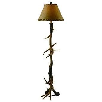 Antler Floor Lamp In Natural
