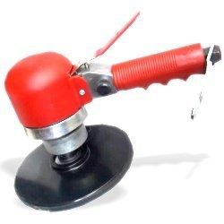Dual Action (DA) Air Sander - Red - Compressor Tool by Neiko