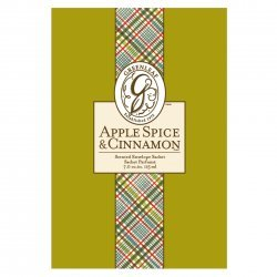 Greenleaf Pack of 6 Large Scented Sachets Apple Spice and Cinnamon