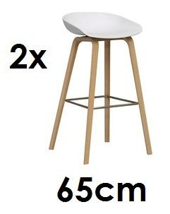 Hay About A Stool AAS 32 Lot De 2 Tabourets Bar En Bois Hauteur