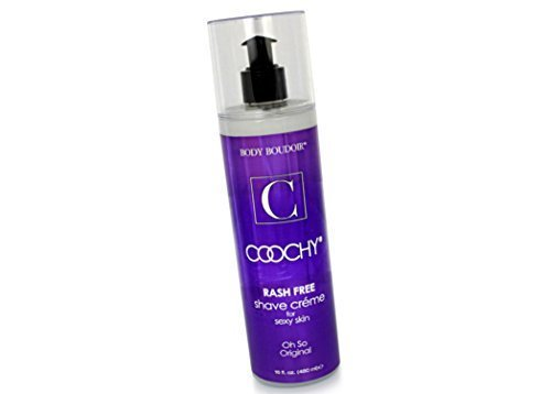 - Coochy Water Based Shave Cream Skin Protection OH SO ORIGINAL (Safe for All Body Parts Including Face and Intimate Areas) - Size 16 Oz