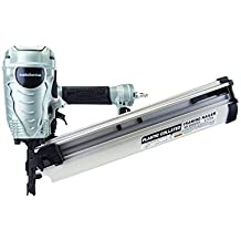 Metabo HPT NR90AES1 Pneumatic Framing Nailer Plastic Collated Full Head Nails 21 Degree Magazine,(Renewed)