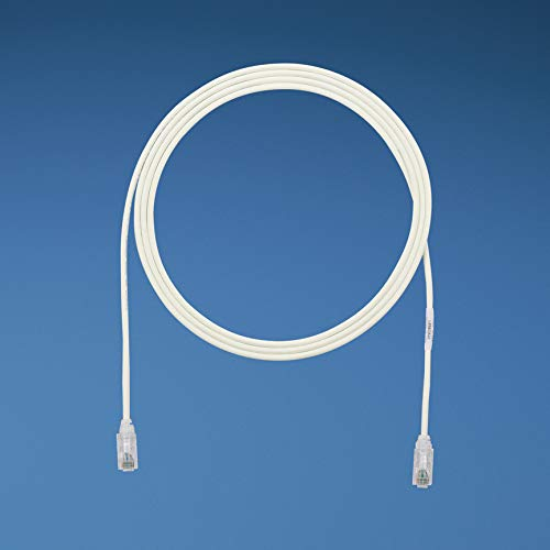 White Dec Terminal (Panduit UTP28SP3 Copper Patch Cord)