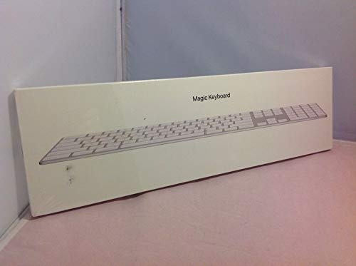 Apple Magic Keyboard with Numeric Keypad...