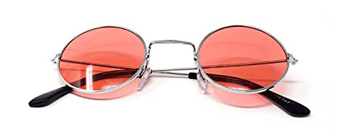 Lentes Plata Femmes Qualité Unisexe Lennon John Rondes Hommes Elton Adultes Con Classique Retro Soleil Lunettes UV400 Style Petit Rojas Vintage de vxTqHB