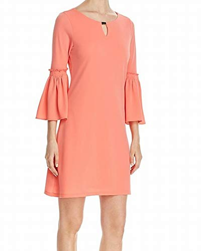 Grande Robe De Quart Manches Cloche Rose Des Femmes Calvin Klein