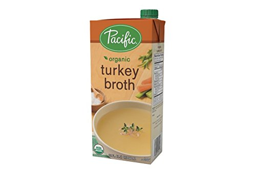 Pacific Foods Organic Turkey Broth, 32-Ounce Cartons, 12-Packs by Pacific Foods (Image #1)
