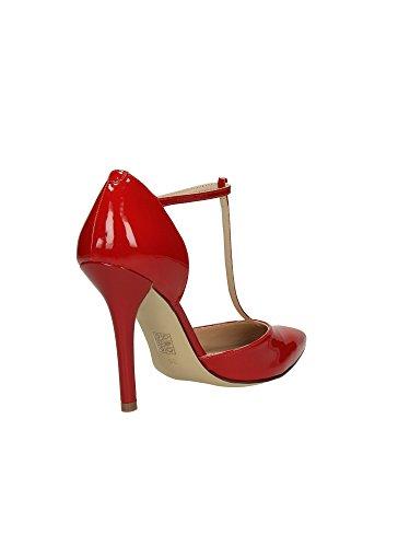 FLTE31PAF08 Red Mujer Cuero Sandalia Guess z7qd0z