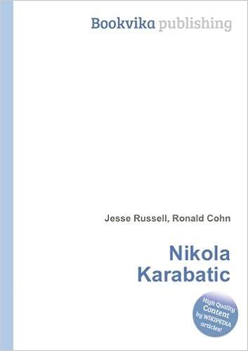 Nikola Karabatic: Amazon co uk: Ronald Cohn Jesse Russell: Books