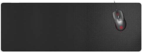 エレコム マウスパッド ゲーミング 大型 900mm×297mm [粗目クロスを採用し、マウスのすべり性・グリップ性を重視する方に ブラック MP-G05BK