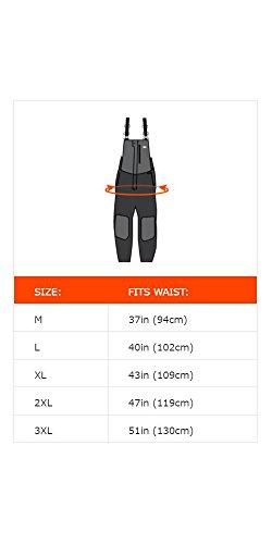 Ergodyne N-Ferno 6471 Men's Winter Thermal Work Bib Overalls, Black, Large by Ergodyne (Image #5)