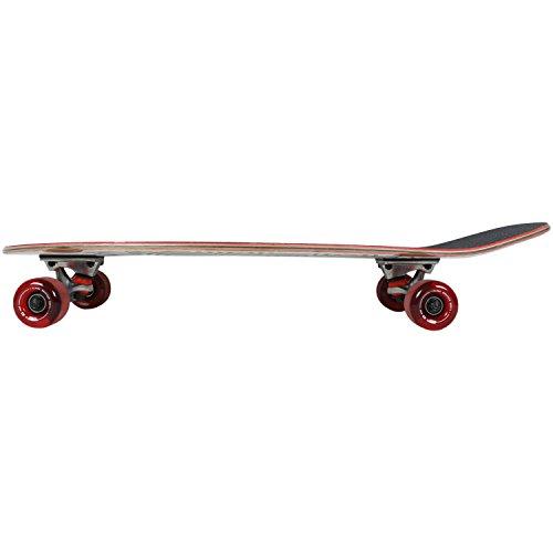 - GLOBE HG Globe Shmoozer Cruiser Complete Skateboard, China Heights/Foil, Size 8.75