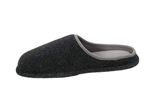 d36939584d25b1 Dearfoams Men s Memory Foam Felt Clog Slippers (Small 7-8