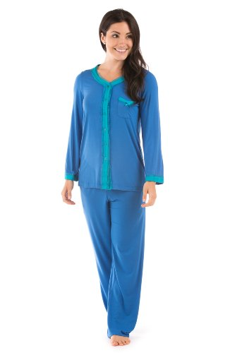 texere-womens-long-sleeve-pajama-set-eco-nirvana-skydiver-x-small-elegant-gifts-for-mom-daughter-wif
