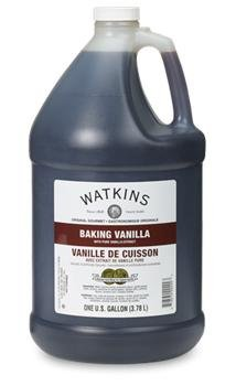 Watkins Double Strength Imitation Vanilla One Gallon by Waktins (Image #1)
