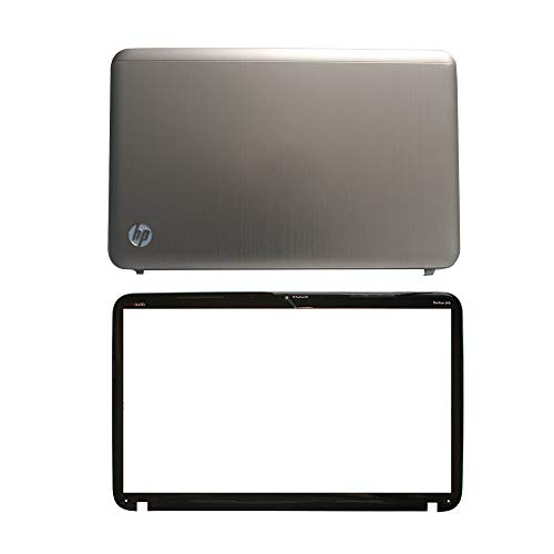 Laptop Replacement Parts Fit HP Pavilion DV6-6000 650796-001 640420-001 (LCD Top Cover Case+LCD Front Bezel Cover Case)