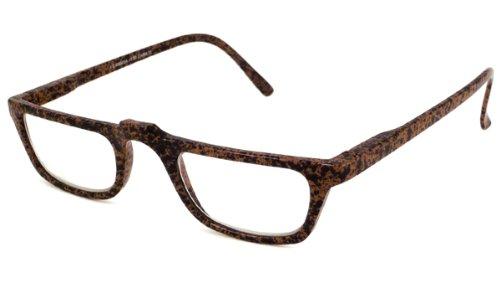 Able Vision Reading Glasses - Carbon Reader I Brown with Black / CARBON I TORTOISE +3.50-CARBONITRT350