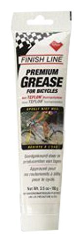 Grease Bicycle Bearing (Finish Line Premium Grease made with Teflon Fluoropolymer, 3.5 Ounce)