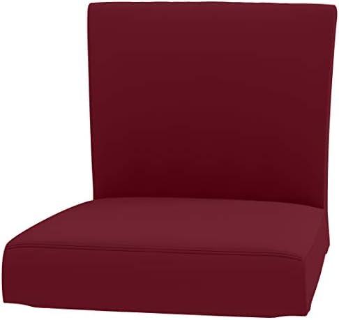 IKEA Bar Stool Chair Cover Red Buffalo Check Print HENRIKSDAL