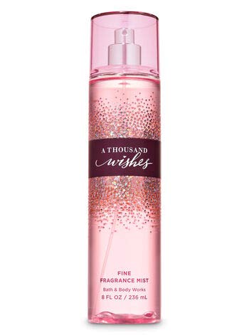 Bath and Body Works A Thousand Wishes Fragrance Mist 8 Ounce Full Size