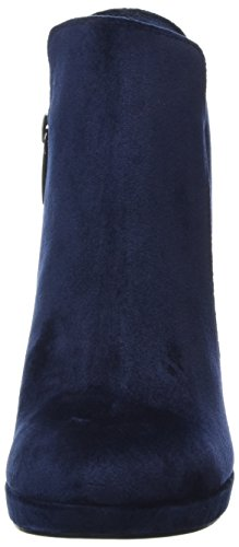 Bleu Femme Bottes navy Tamaris Velvet 25046 wzB6x0w1gq