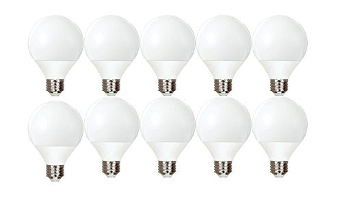 Globe Compact Fluorescent Light Bulb - GE Lighting Energy Smart CFL 11-Watt (40-watt replacement) 500-Lumen G25 Light Bulb with Medium Base (10 Bulbs)