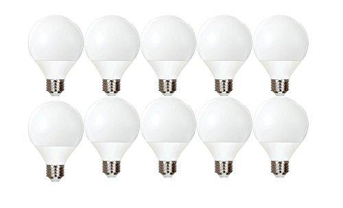 (GE Lighting Energy Smart CFL 11-Watt (40-watt replacement) 500-Lumen G25 Light Bulb with Medium Base (10 Bulbs))